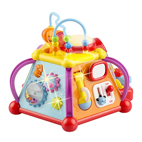 Baby Toys Activity Cube & Baby Activity Center Sensory Toys for Girls and Boys - Baby Boy Gifts - Baby Girl Gifts