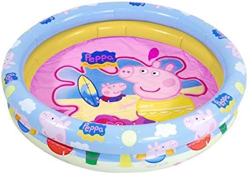 Peppa Pig - Piscina Hinchable, 110 cm (Saica Toys 9114): Amazon.es: Juguetes y juegos