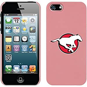 Calgary Stampeders Primary design on Pink iphone 6 4.7 / 5 Thinshield Snap-On Case WANGJING JINDA