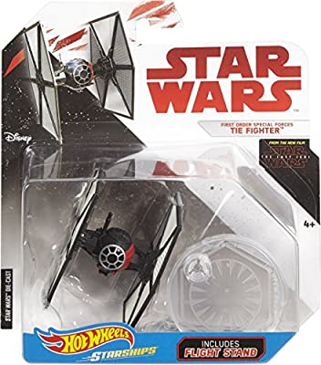 Hot Wheels Star Wars: The Last Jedi First Order Special Forces Tie Fighter Die-Cast Vehicle