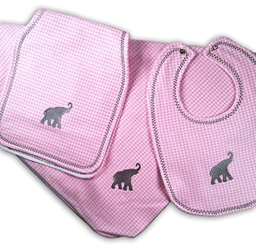 Gift For Baby Alabama Crimson Tide Nursery Bundle Pink by Mimis Favorite (Image #8)