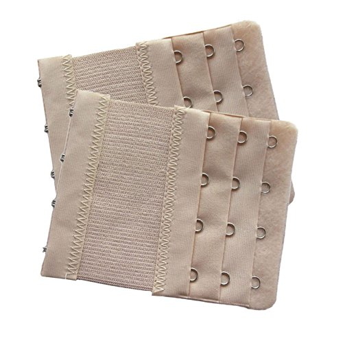 Lalago Women's Bra Strap Extenders 3x4 Hook,2 Pack (skin (Maternity Sportswear)