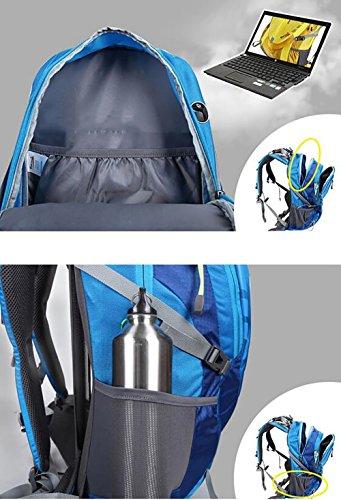 HWLXBB Outdoor Bergsteigen Tasche 40L Anti-Spritzwasser Wasser Licht Reise Bergsteigen Rucksack Männer und Frauen Walking Bergsteigen Tasche ( Farbe : 1* )
