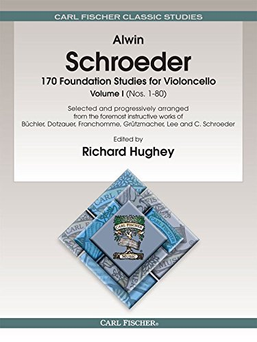 170 Foundation Studies for Violoncello, Vol. 1 by Alwin Schroeder [Paperback(1970)]