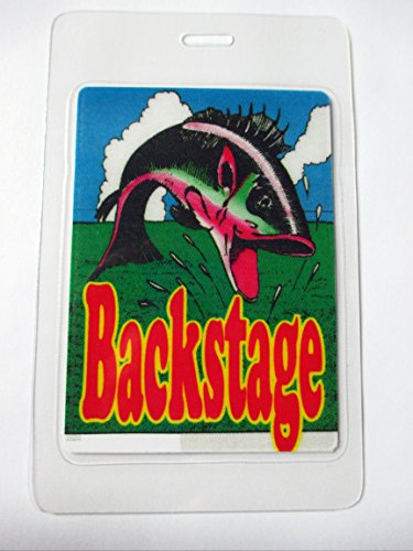 Bob Dylan Fish Laminated Backstage Pass
