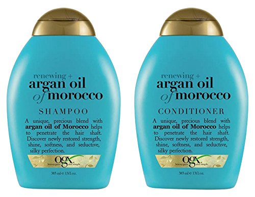 (OGX) Organix Shampoo Moroccan Argan Oil + conditioner, 13 oz combo (Argan Oil Of Morocco Shampoo And Conditioner Review)