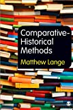 Comparative-Historical Methods, Lange, Matthew, 1849206287