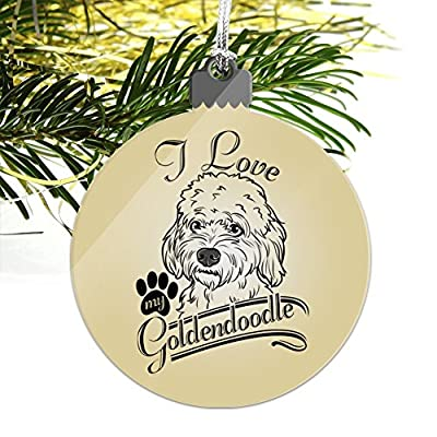 GRAPHICS-MORE-I-Love-My-Goldendoodle-Acrylic-Christmas-Tree-Holiday-Ornament