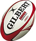 This high-quality, hand stitched rugby training ball made by Gilbert uses the hydratec technology to enhance the life and performance of the ball.