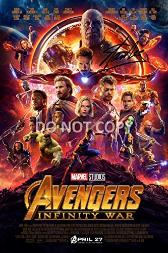Stan Lee comic book legend reprint signed autographed Marvel The Avengers 12x18 poster photo #1 RP from Loa_Autographs