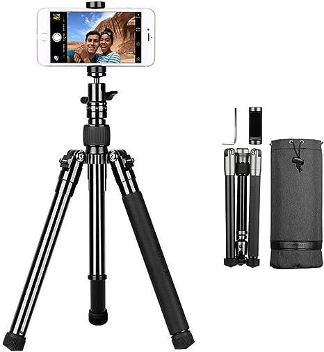 YTBLF Trípode portátil para teléfono móvil, Soporte de cámara ...
