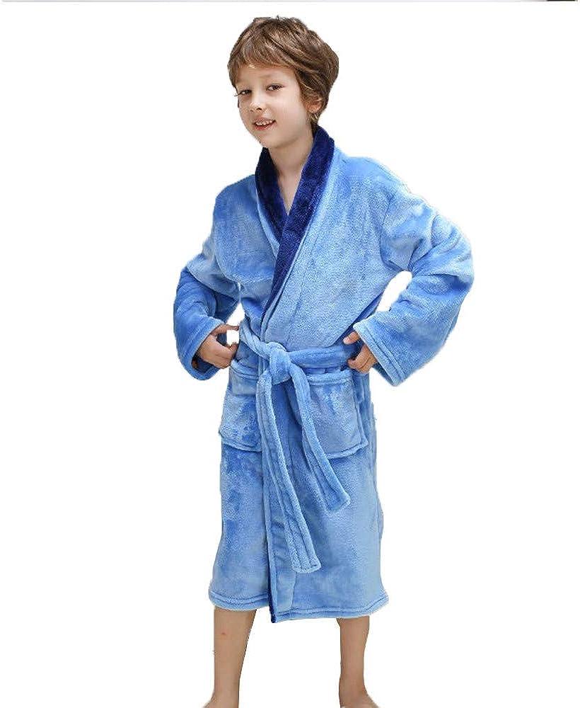 Jellifish Kids Jelli Fish Boys XS 4-5 Navy Football Fleece Robe