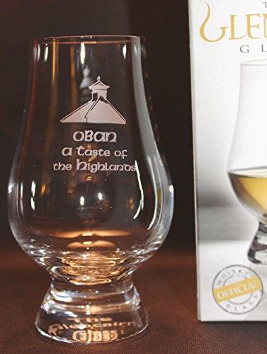 OBAN PAGODA TOP GLENCAIRN SINGLE MALT SCOTCH WHISKY TASTING GLASS