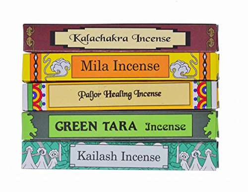 - Better Supplies Tibetan Green Tara Incense Gift Pack