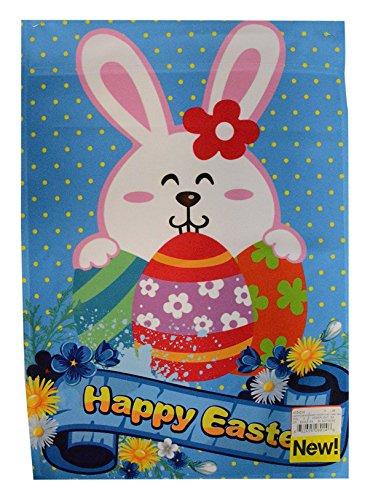 "ArtVerse 12"" x 18"" 2 Sided Bunny Garden Flag from ArtVerse"