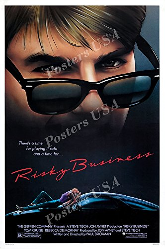 Posters USA - Tom Cruise Risky Business Movie Poster GLOSSY FINISH - FIL175 (24