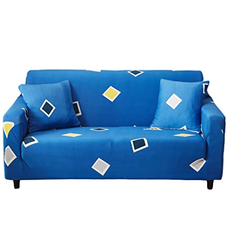 Amazon.com: DULPLAY Funda de sofá de jacquard elástica ...