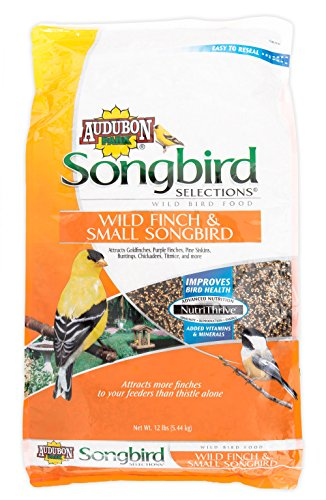 Songbird Selections 11976 Wild Finch and Small Songbird Wild Bird Food, 12-Pound