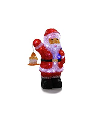 Père Noël et sa lanterne lumineux 40 LED Blanc froid  Amazon.fr ... a5bb2003bb28