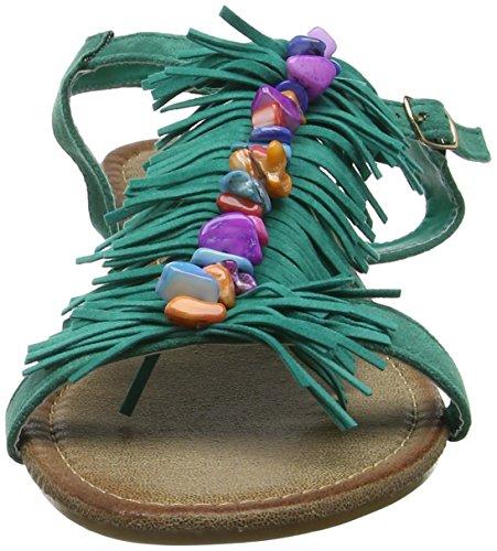 de Verde Mujer Sandalias Castaway Sandals A Jade Joe para Gladiador Browns xIqRaZa