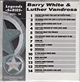 Legends Karaoke CDG Hits of BARRY WHITE And LUTHER VANDROSS Music CD