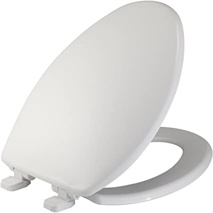 Pleasant Mayfair 184Slowj 000 Elongated Toilet Seat Front Just Lift Whisper Close Hinge Plastic White Gmtry Best Dining Table And Chair Ideas Images Gmtryco