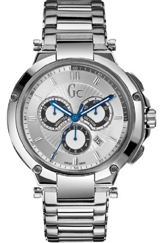 Reloj Guess Collection Gc Executive X66004g1s Hombre Plateado: Amazon.es: Relojes