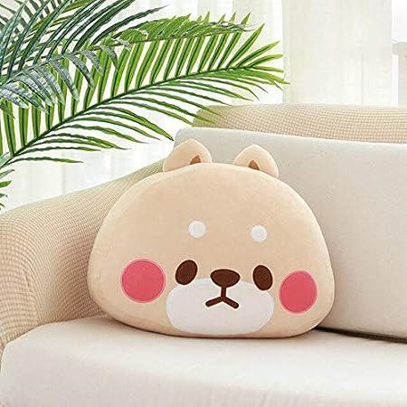 Amazon.com: Almohada de felpa con diseño de animales, para ...
