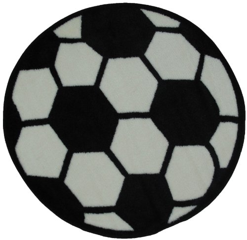 LA Rug Soccerball Rug 39