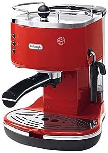 DeLonghi ECO 311 - Cafetera automática, 1100 W, 1.4 l, color rojo