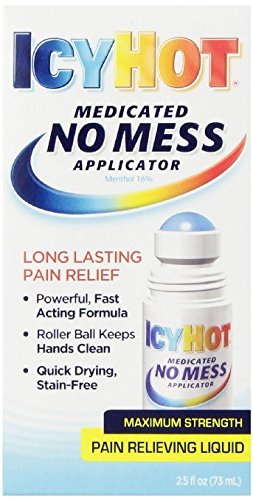 Icy Hot Ointment - Icy Hot No Mess Applicator, 2.5 Ounce (2)
