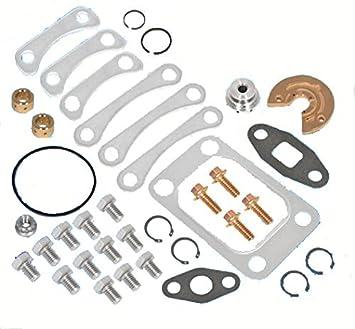 Turbo cargador de reparación Piezas para reparación de ajuste para T3 T4 t04b t04e Turbocompresor: Amazon.es: Coche y moto