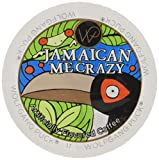 Wolfgang Puck Jamaican Me Crazy Flavored Coffee Single Serve Cups for Keurig, 24 Count