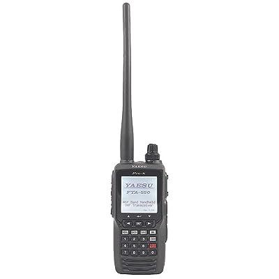Yaesu FTA550 Handheld VHF Transceiver: GPS & Navigation