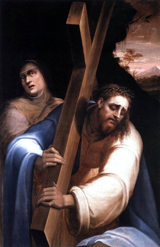 - Art Oyster Giovanni De' Vecchi Carrying the Cross - 16.1
