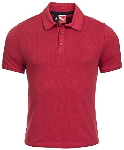 Puma Bmw M de Polo Camiseta Hombre 561531 – 02 Rojo rojo Talla ...