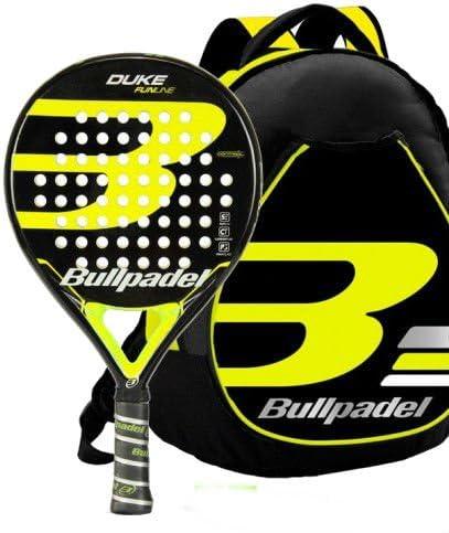 Kit Bull Padel Duke mochila + pala (Amarillo): Amazon.es: Deportes ...