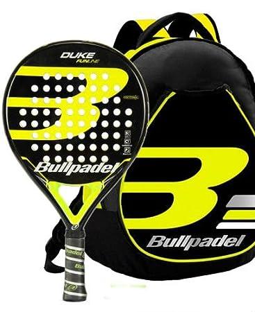 Kit Bull Padel Duke mochila + pala (Amarillo): Amazon.es: Deportes y aire libre