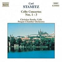 Cello Concertos 1 - 3 (Benda, Prague Co)