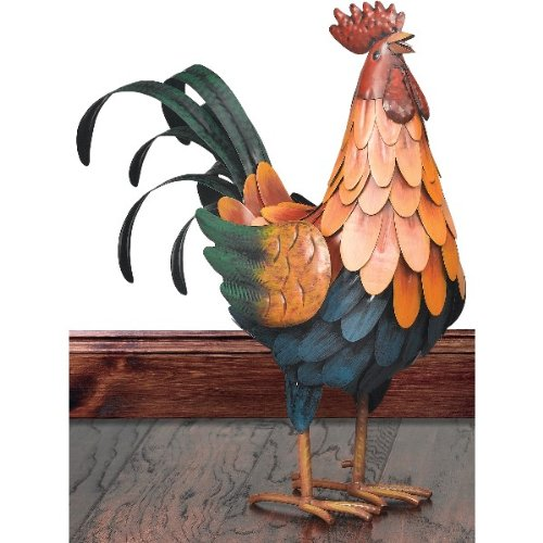 Regal Art & Gift Golden Rooster Decor Med