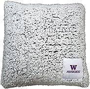 Ultra Soft Frosty Fleece Pillow (Washington Huskies - Team Color)