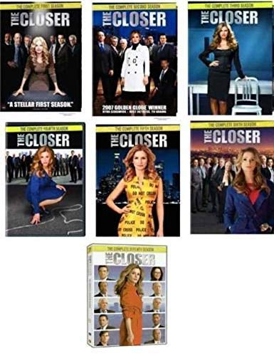 The Closer Complete Series Collection on DVD Seasons 1-7