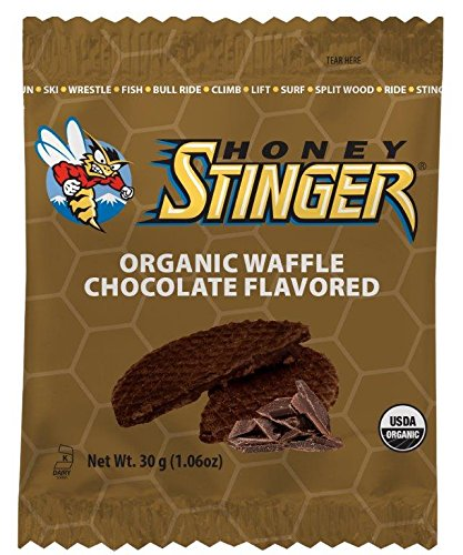 Honey Stinger Organic Waffle, Chocolate Flavored,  1.06 Ounce (Pack Of 16)