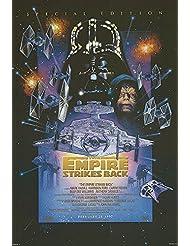 "Star Wars: Episode V - The Empire Strikes Back - Authentic Original 27"" x 40"" Movie Poster"