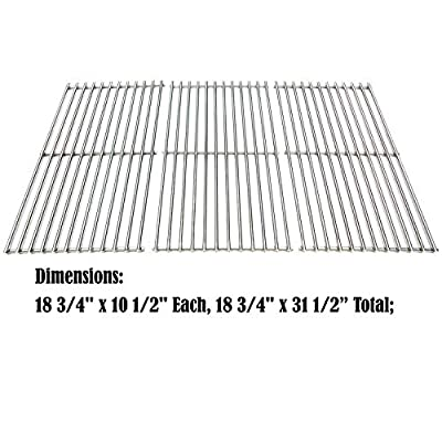 Direct store Parts DS117 Solid Stainless Steel Cooking grids Replacement Sam's Club, Charbroil, Members Mark, Jenn-Air, Centro Gas Grill