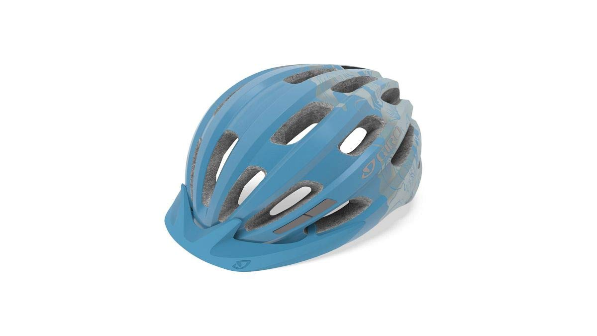 Giro Vasona Casco de Bicicleta Dirt, Mujer, Azul Claro y Flores ...