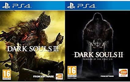 Dark Souls III + II: Scholar Of The First Sin: Amazon.es: Videojuegos