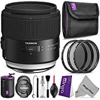 Tamron SP 35mm F/1.8 Di VC USD for NIKON DSLR Cameras w/ Essential Photo and Travel Bundle Advantages Review Image