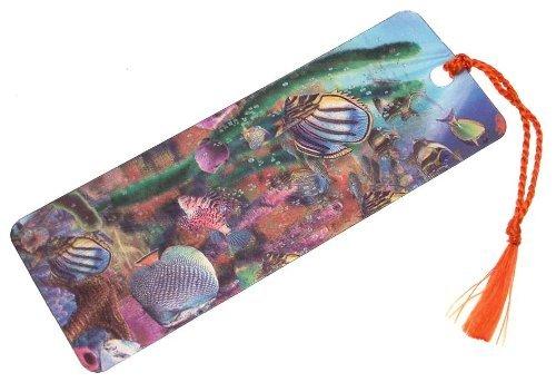 3D Lenticolare Segnalibro Tropical Pesce Tobar