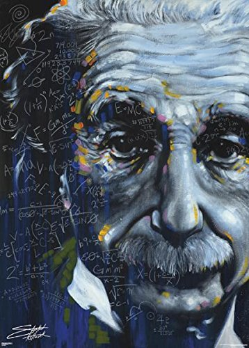 (39x55) Stephen Fishwick It's All Relative Einstein Huge Art Print Poster (Frame For 55 X 39 compare prices)